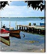 Cabo Rojo Skiffs Acrylic Print