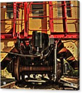 Caboose On The Loose Acrylic Print