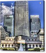 Cabot Square London Acrylic Print