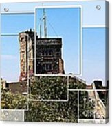 Cabot Tower Montage Acrylic Print