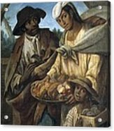 Cabrera, Miguel 1695-1768. De Lobo Y De Acrylic Print