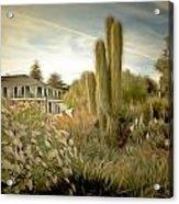 Monterey California Cactus Garden Acrylic Print