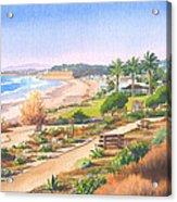 Cactus Garden At Powerhouse Beach Acrylic Print