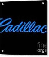 Cadillac Acrylic Print by Andres LaBrada