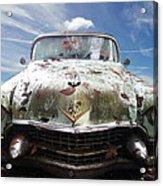 Cadillac At The Beach Acrylic Print
