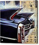 Cadillac Attack Acrylic Print
