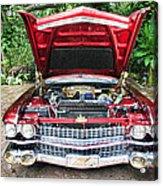 Cadillac Engine Acrylic Print