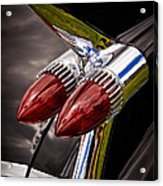Cadillac Fin Acrylic Print by Phil 'motography' Clark