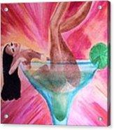 Cadillac Margarita Acrylic Print