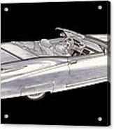 1963 64 Cadillac Roadster Concept Acrylic Print