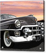 Cadillac Sunset Acrylic Print