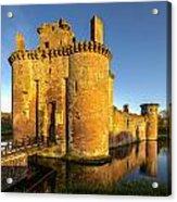 Caerlaverock Castle - 2 Acrylic Print
