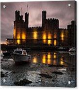 Caernarfon Castle Wales Acrylic Print