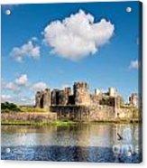 Caerphilly Castle 1 Acrylic Print