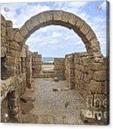 Caesarea The Hippodrome Acrylic Print