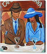Cafe Americana Acrylic Print