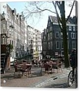 Cafe Amsterdam Acrylic Print