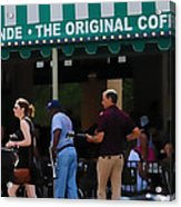 Cafe Cafe  Acrylic Print by Kenneth Feliciano