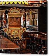 Cafe Chez Eugene - Montmartre Acrylic Print