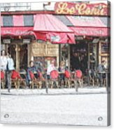 Cafe Conti Acrylic Print