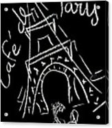 Cafe De Paris Acrylic Print