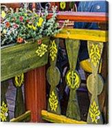 Cafe Decor - Tallin Estonia Acrylic Print