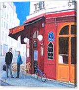 Cafe Des Musees Paris Acrylic Print