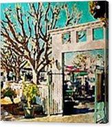 Cafe Diego Acrylic Print