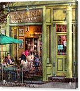 Cafe - Hoboken Nj - Empire Coffee And Tea Acrylic Print