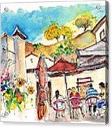Cafe In Barca De Alva Acrylic Print