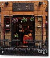 Cafe Acrylic Print