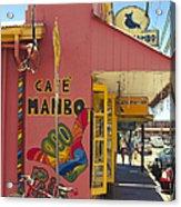 Cafe Mambo Paia Maui Hawaii Acrylic Print
