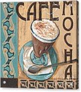 Cafe Nouveau 1 Acrylic Print by Debbie DeWitt