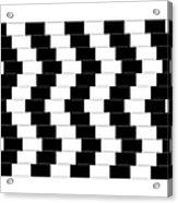 Cafe Wall Illusion Acrylic Print