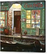 caffe Carlotta Acrylic Print