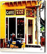 Caffe Ciao Acrylic Print
