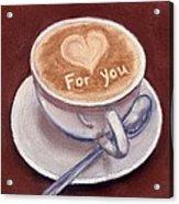 Caffe Latte Acrylic Print