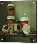 Caffeine Buzz Acrylic Print