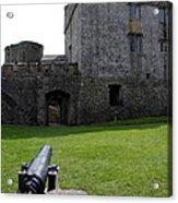 Cahir Castle Yard Acrylic Print