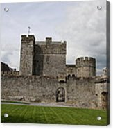 Cahir's Castle Second Courtyard Acrylic Print