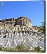 Caineville Mesa Utah Acrylic Print