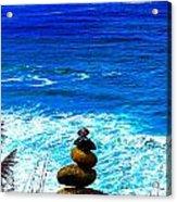 Cairn Creation Acrylic Print