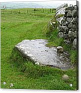Cairn T At Loughcrew Acrylic Print