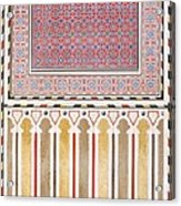 Cairo Decoration Of The El Bordeyny Acrylic Print