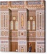 Cairo Interior Of The Mosque Acrylic Print