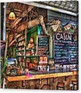 Cajun Cafe Acrylic Print