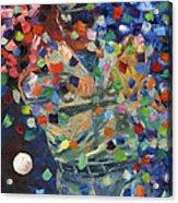 Cal Ripken Jr Acrylic Print by Ash Hussein
