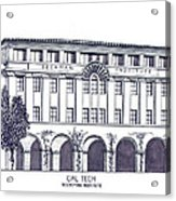 Cal Tech Beckman Acrylic Print