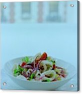 Calamari Salad Acrylic Print