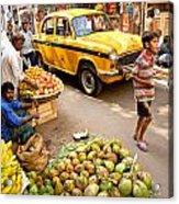 Calcutta - India Acrylic Print